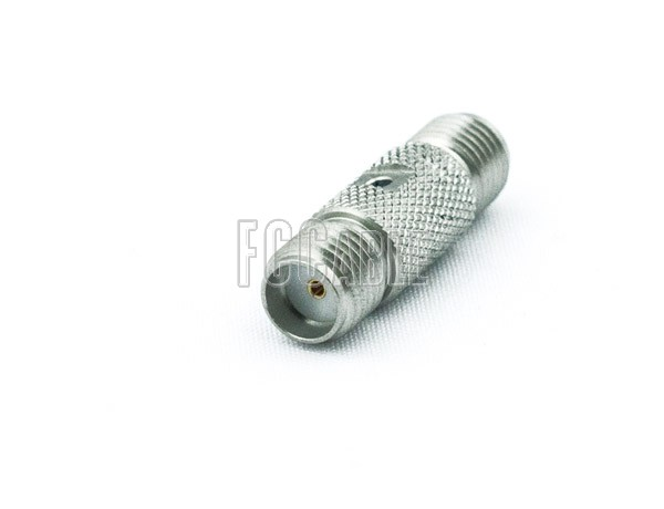 SMA Female To SMA Female Knurl Adapter