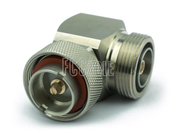 7/16 Male To 7/16 Female Right Angle Adapter