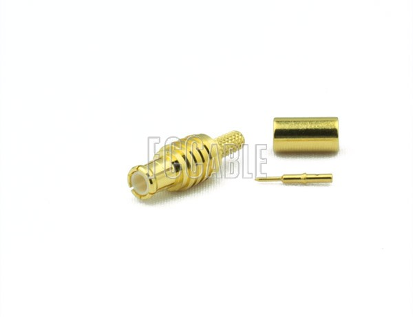 RF MCX Plug Connector CRIMP For RG174, RG188, RG316, B7805A
