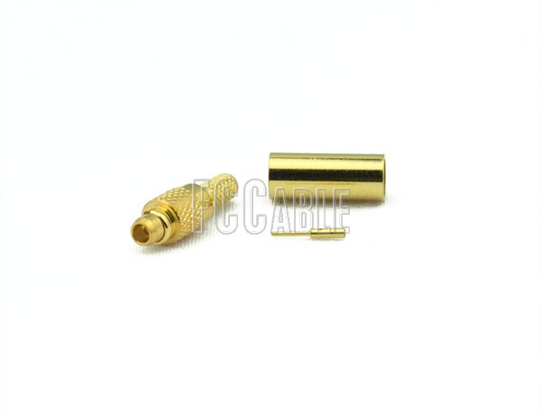 RF MMCX Plug Connector CRIMP For RG174, RG188, RG316, B7805A