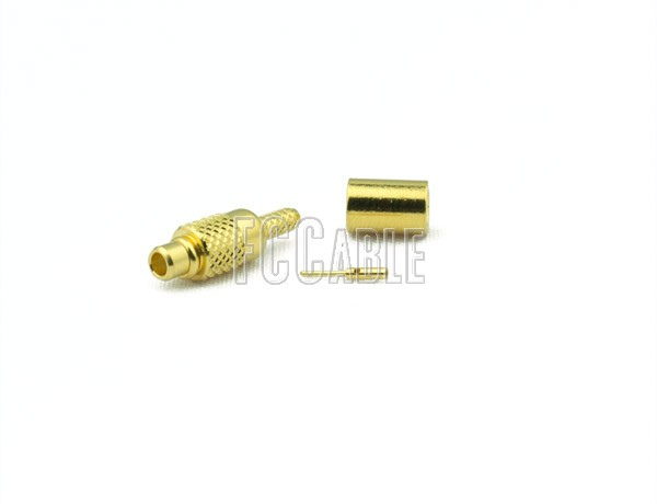 RF MMCX Plug Connector CRIMP For RG178, RG196
