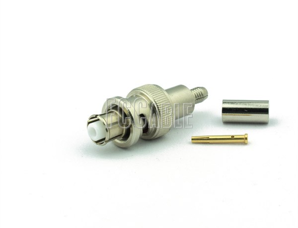 RF SHV Plug Connector CRIMP For RG58, RG141, RG303, LMR195, B7806A