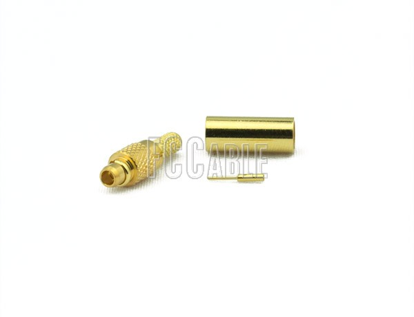 RF MMCX Plug Connector CRIMP For RG188DS, RG316DS