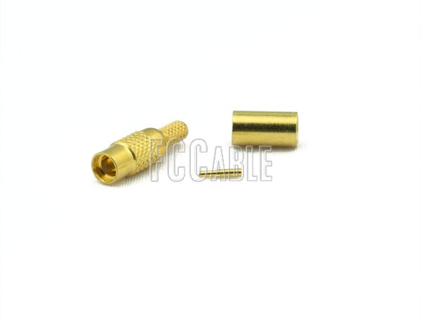RF MMCX Jack Connector CRIMP For RG188DS, RG316DS