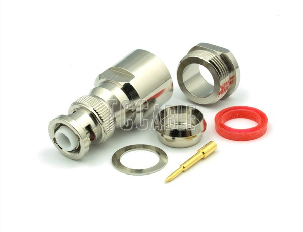 RF MHV Male Connector CLAMP For RG8, RG9, RG11, RG213, RG214, RG225, RG393