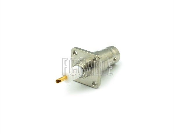 RF SHV Jack Connector Panel Mount