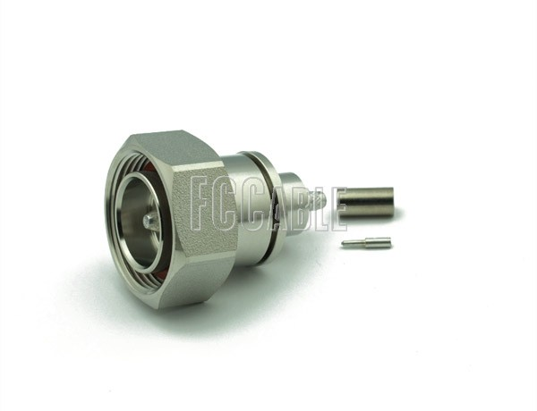 RF 7/16 DIN Male Connector CRIMP For RG58, RG141, RG303, LMR195, B7806A