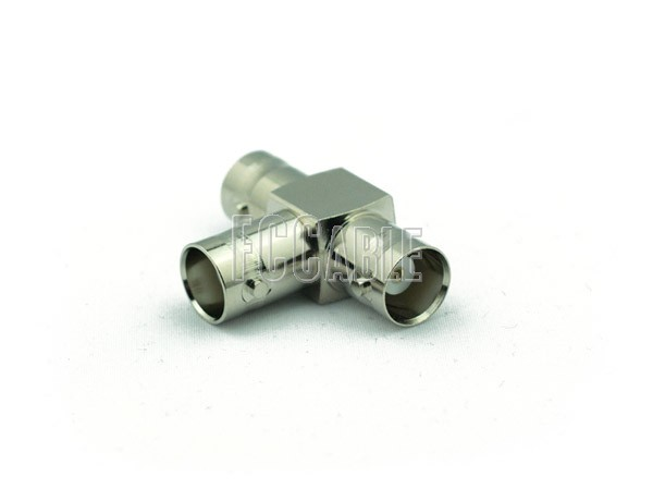 Adapters - BNC T Female to Female to Female Adapter BNC    0     0