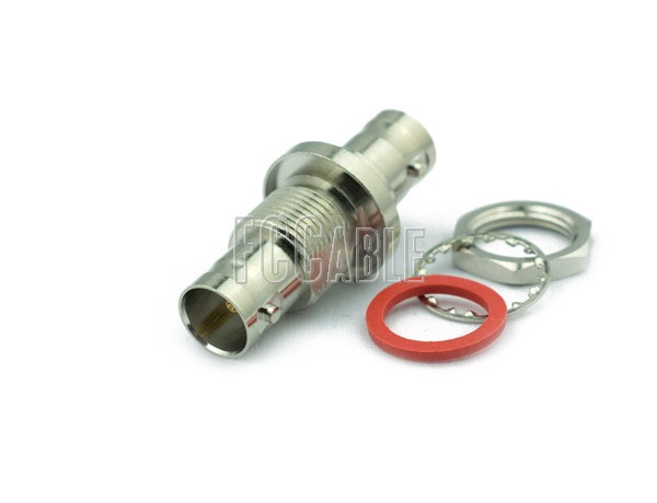 Adapters - 75 Ohm BNC Female To 75 Ohm BNC Female Bulkhead Adapter 75 OHM BNC f   0 75 OHM BNC f  b 0