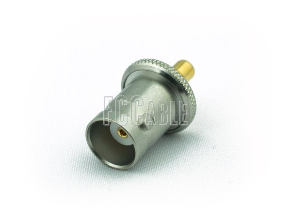 Adapters - BNC Female To SMC Jack Adapter BNC f   0 SMC j   0