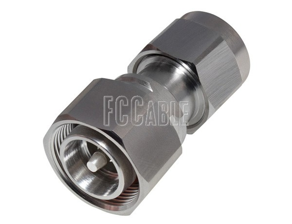 Low Pim Adapters - Low PIM 4.3/10 Male To N Male Adapter 4.3/10 m   0 N m   0