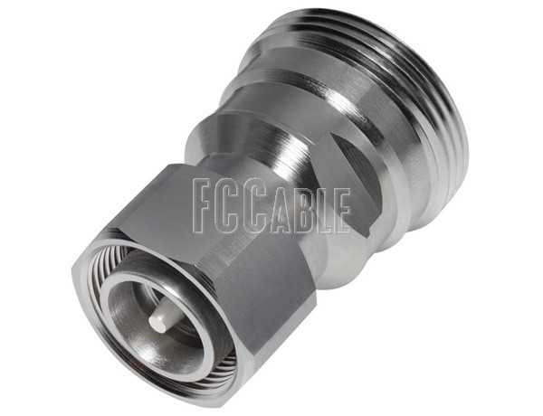 Low PIM 7/16 Female To 4.3/10 Male Adapter