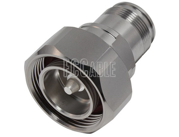 Low Pim Adapters - Low PIM 7/16 Male To 4.3/10 Female Adapter 7/16 m   0 4.3/10 f   0