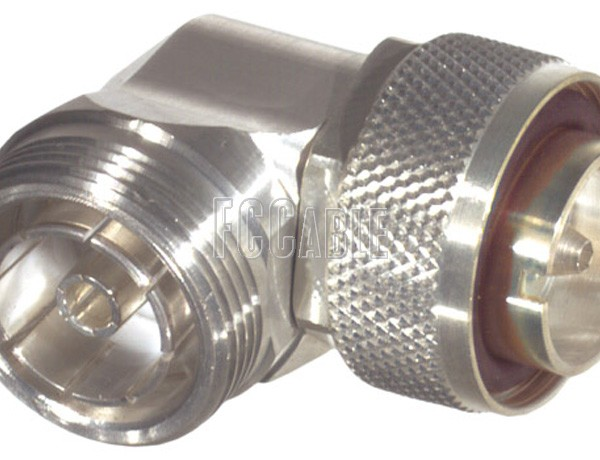 Low Pim Adapters - Low PIM 7/16 DIN Male To 7/16 DIN Female Right Angle Adapter 7/16 DIN m   0 7/16 DIN f   1