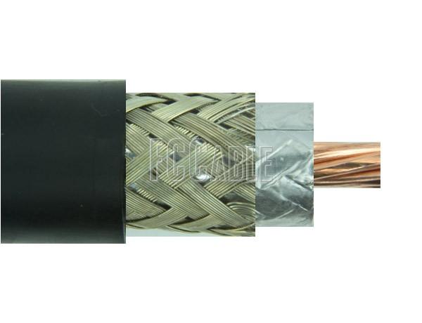 RF Flexible Cable 50, 52, 53 Ohms