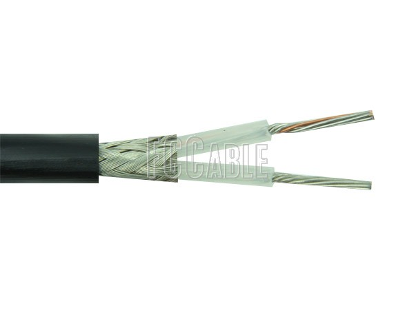Coaxial Cable - Flexible RG108A/U 78 Ohm Twinax Cable 0.235 inches Diameter, Single Shield, Black PVC Jacket 0.41    0     0 RG108A/U