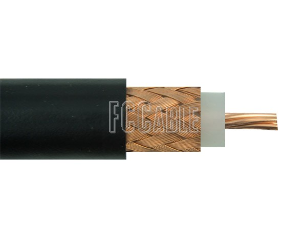 Coaxial Cable - Flexible RG213/U 50 Ohm Coax Cable 0.405 inches Diameter, Single Shield, Black PVC Jacket     0 0    0 RG213/U