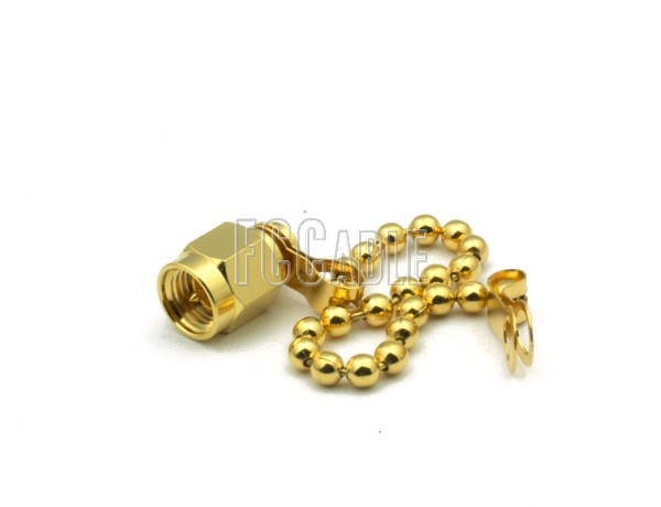 Shorts - SMA MALE SHORTING CAP WITH CHAIN SMA    0  m   0